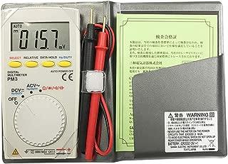 SRY-デジタルマルチメーター PM3プロフェッショナルデジタルマルチメータポケット型抵抗静電容量周波数デューティサイクル連続性テスト