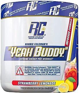 Ronnie Coleman Signature Series Yeah Buddy Strawberry Lemonade Dietary Supplement 240 Gram, 240 Gram