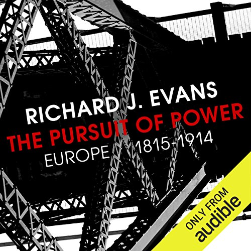 The Pursuit of Power audiobook cover art