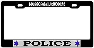 License Plate Frame, Novelty Car Tag Frame, License Plate Cover Holder, Auto Car Truck Tag Holder for US Standard
