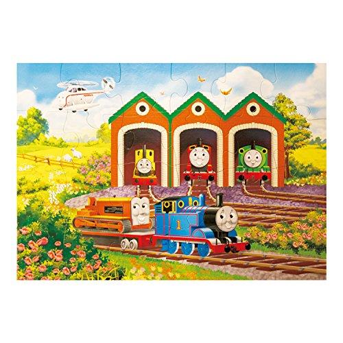 Ravensburger Thomas et Ses Amis géant en Forme de Puzzle de Sol en Carton