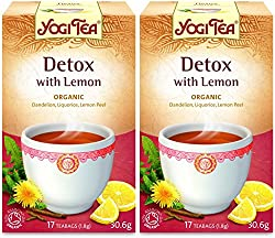 Vegan & vegetarian friendly. Caffiene free 17 teabags. Organic. without the added lemon flavouring. No added preservatives