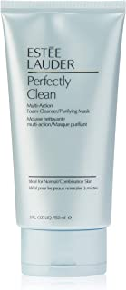 Estee Lauder Perfectly Clean Multi-Action Foam Cleanser/Purifying Mask - All Skin Types by Estee Lauder for Unisex - 5 oz Cleanser, 150 milliliters