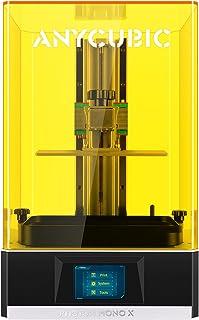 ANYCUBIC Photon Mono X 光造形 3Dプリンター 最大印刷サイズ 192*120*250mm LCD 3D プリンタ 光造型 3倍高速UV印刷 4Kモノクローム アプリ遠隔操作 マトリックス光源 高精度