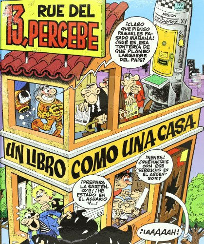 POP-UP 13 RUE DEL PERCEBE: UN LIBRO COMO UNA CASA (VARIOS COMICS)