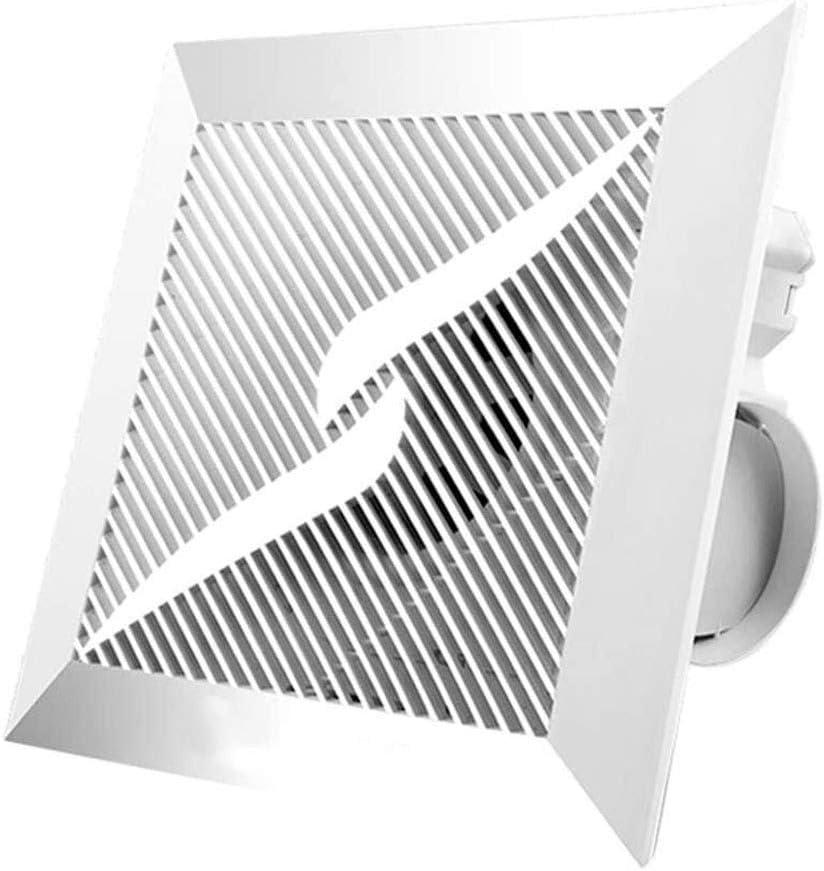Extractor Cocina, Extractor de Baño Extractor de aire de techo, cocina baño extractor de humos de escape, Potente flujo de alta potencia de ruido de tipo techo ultradelgada ventilador silencioso adecu