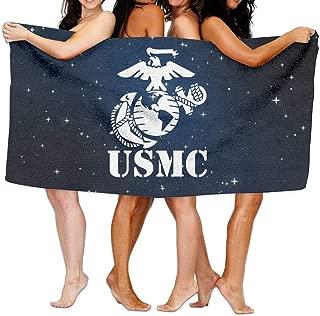 USMC Marine Corps Over-Sized Cotton Beach Bath Towels