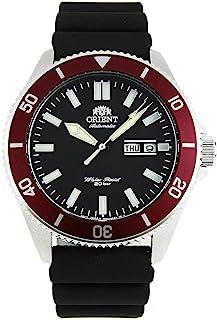 Orient - RA-AA0011B Kano banda de silicona bisel rojo negro reloj de buceo automático