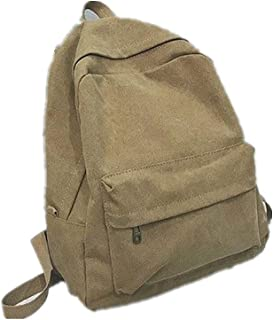 Canvas Backpack Female Ancient Sense Girl Student Bag Large Capacity Simple Backpack Backpack