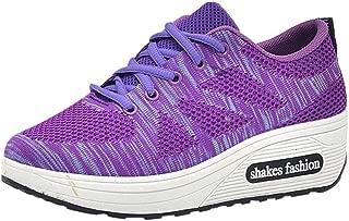 ZEZKT Baskets Mode Mixte Adulte Femmes Fille Respirant Sport Marche Mode Chaussures de Course Chaussures de Sport Mode Chaussure Loisirs Chaussure de Travail Chaussure de s/écurit/é