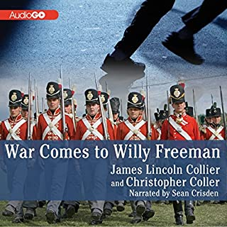 War Comes to Willy Freeman audiobook cover art