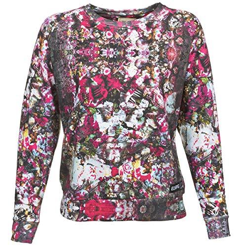 Eleven Paris 15F2LJ05 - Sweat-shirt - Col rond - Manches longues - Femme - Multicolore (Olegend) - FR: 36 (Taille fabricant: S)