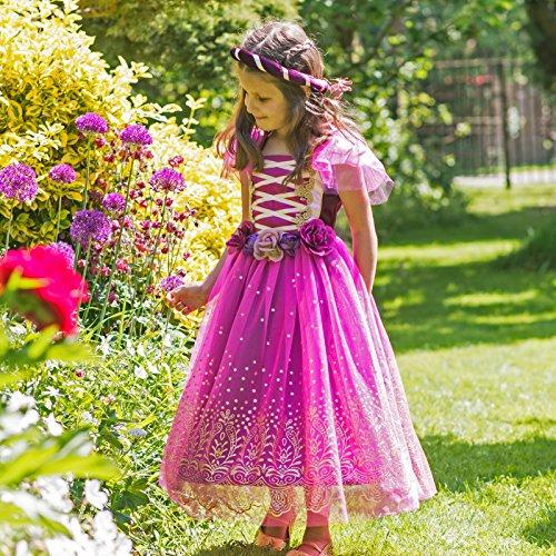 Travis Designs-Robe de princesse Plum violette (3-5 ans) - Violet