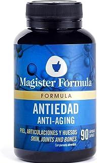 Colageno Marino Hidrolizado + Ácido Hialurónico + Vitamina C y A + Selenio + Q10 + Resveratrol al 98% | Suplemento