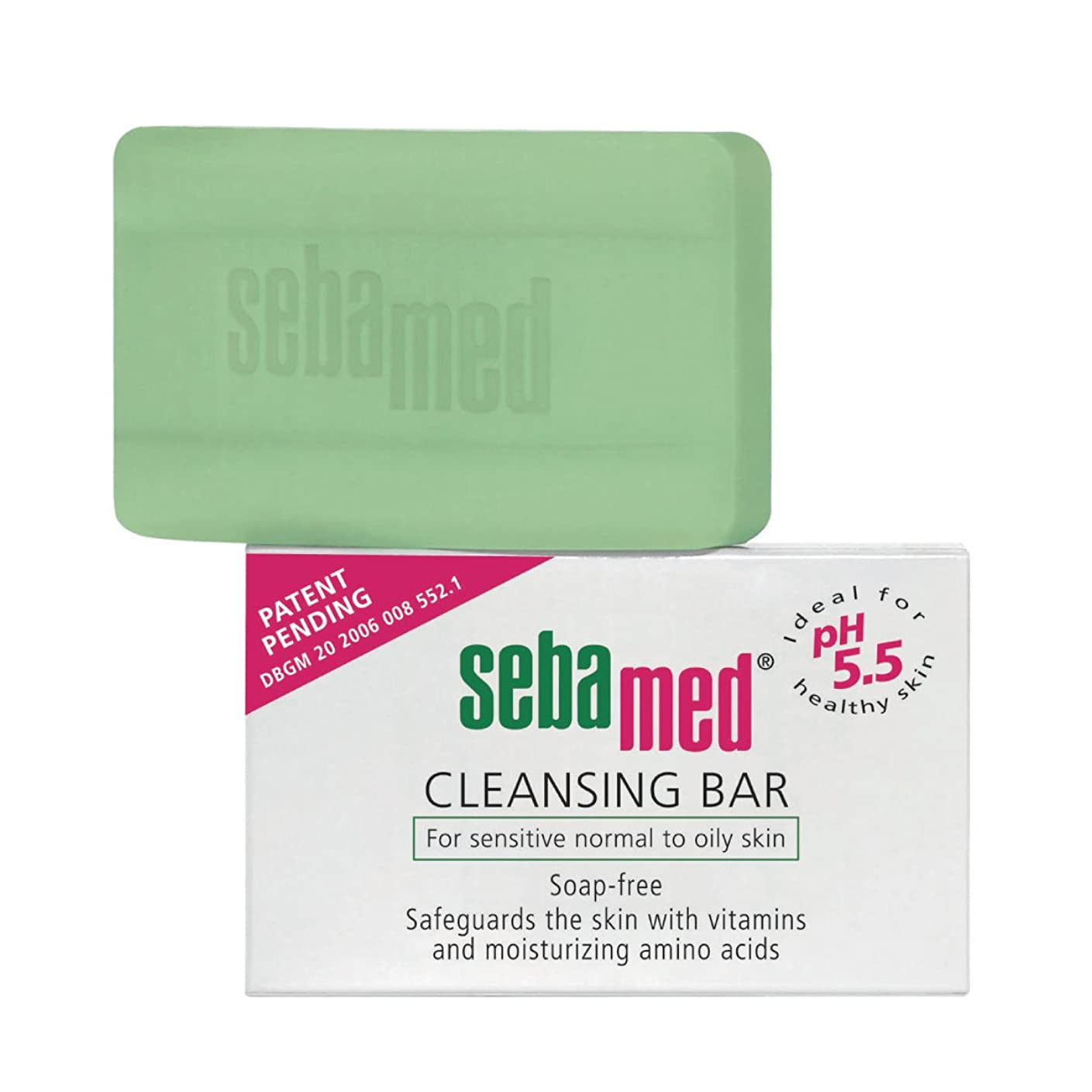 共産主義者蓮アプライアンスSebamed Cleansing Bar Sensitive Skin 150gr [並行輸入品]