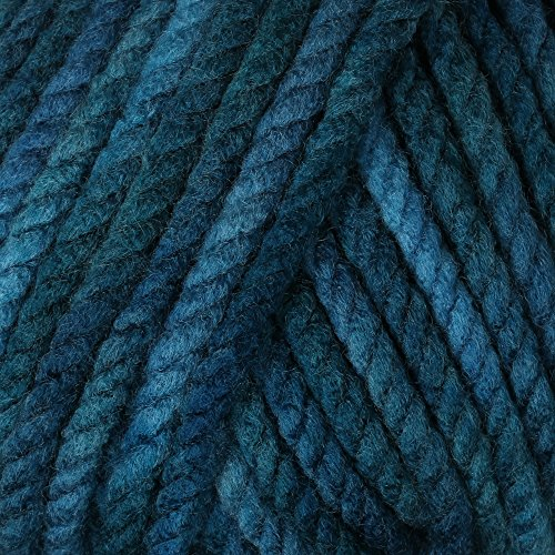 200 gr. Bravo Big Color, Fb. 087 aqua blau, Schachenmayr, Strickwolle