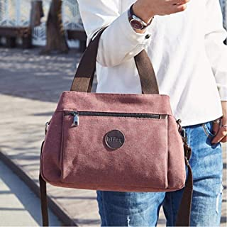 Women Canvas Handbags Casual Ladies Shoulder Bag Girls Messenger Bag