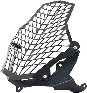 KKmoon Rejilla Faro Moto,Protector de Faro Cubierta compatible para 1190 1290 1050 1090 ADV