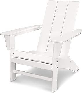 POLYWOOD Modern Adirondack Adirondack Chair, White