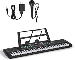 Electronic Keyboard 61-Key Electric Piano Toy for Kids Piano
