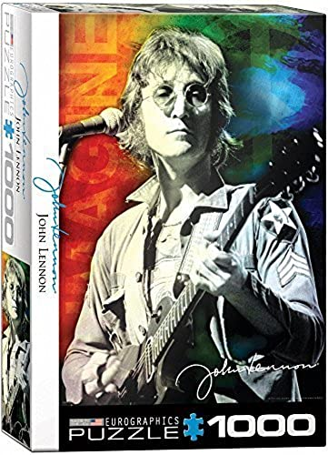 EuroGraphics John Lennon Live in New York (1000 Piece) Puzzle by EuroGraphics