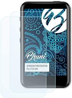 Bruni Protecteur d/écran Compatible avec FiiO X3 Mark III Film Protecteur 2X Cristal Clair /Écran Protecteur