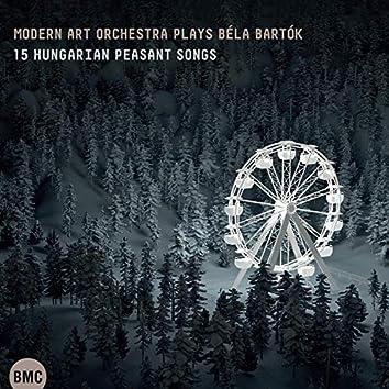Plays Bartók - 15 Hungarian Peasant Songs