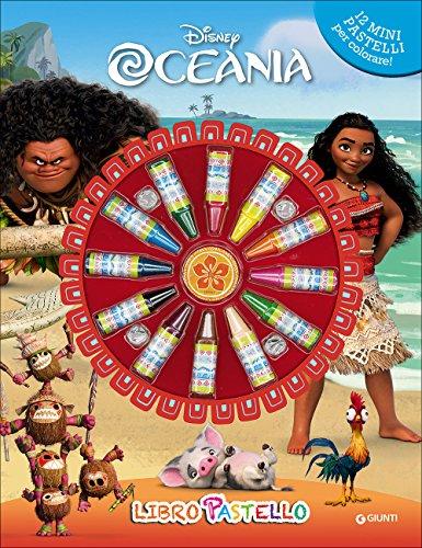 Oceania. Libro pastello. Con 12 mini pastelli