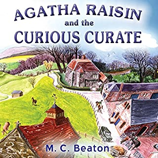 Agatha Raisin and the Curious Curate (Unabridged) cover art