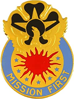 111th Military Intelligence Brigade Unit Crest (Mission First)