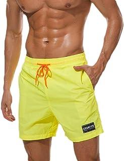 XINHEO Men's Pockets Active Waterproof Breathable Loose Fit Shorts Pnats