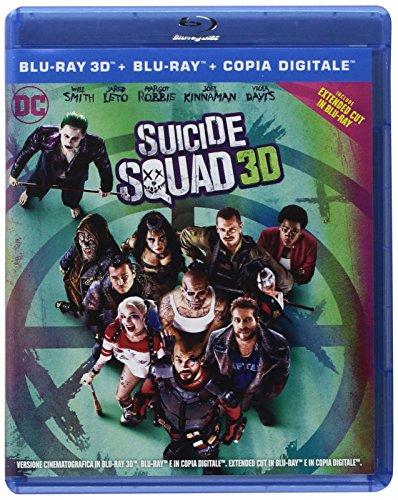 Suicide Squad - 3D (2 Blu-RAy) (Extended Cut);Suicide Squad [Italia] [Blu-ray]