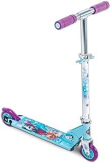 Disney Frozen Girls' 2-Wheel Inline Folding Scooter, by Huffy