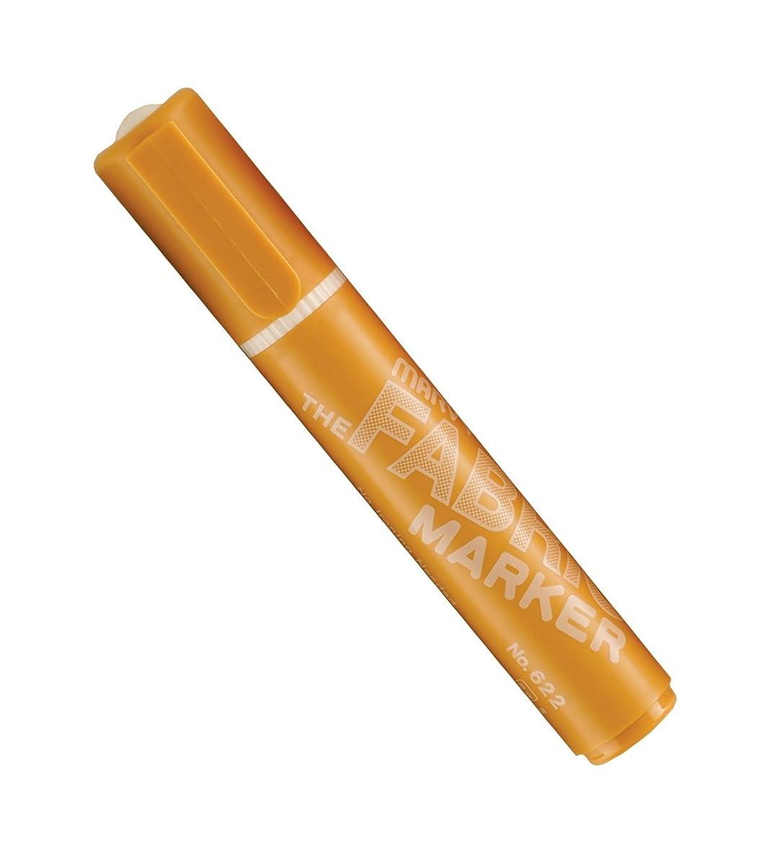 Uchida 622-C-13 Marvy Broad Point Fabric Marker, Goldenrod