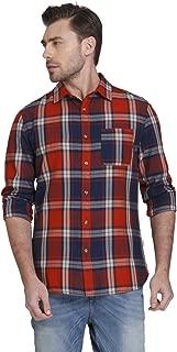 Jack & Jones Men's Checkered Slim Fit Casual Shirt