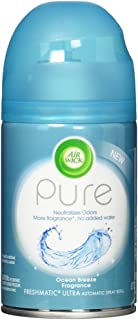 Air Wick Pure Freshmatic Refill Automatic Spray, Ocean Breeze, 1ct, Air Freshener, Essential Oil, Odor Neutralization, Packaging May Vary