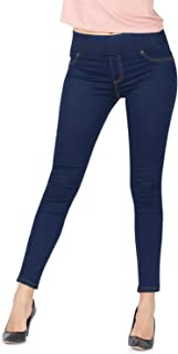 Jeggings for Women - High Rise Skinny Fit Pull on Jeans -...