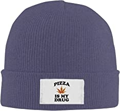 Pizza Is My Drug High Quality Knit Hat Custom Cap