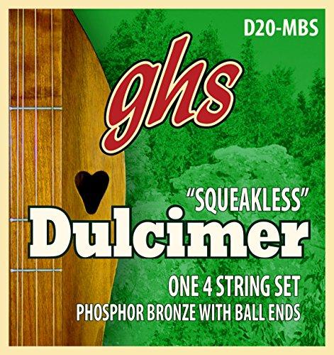 ghs D 20 MBS Dulcimer Mixolydian Tunning Squeakless String