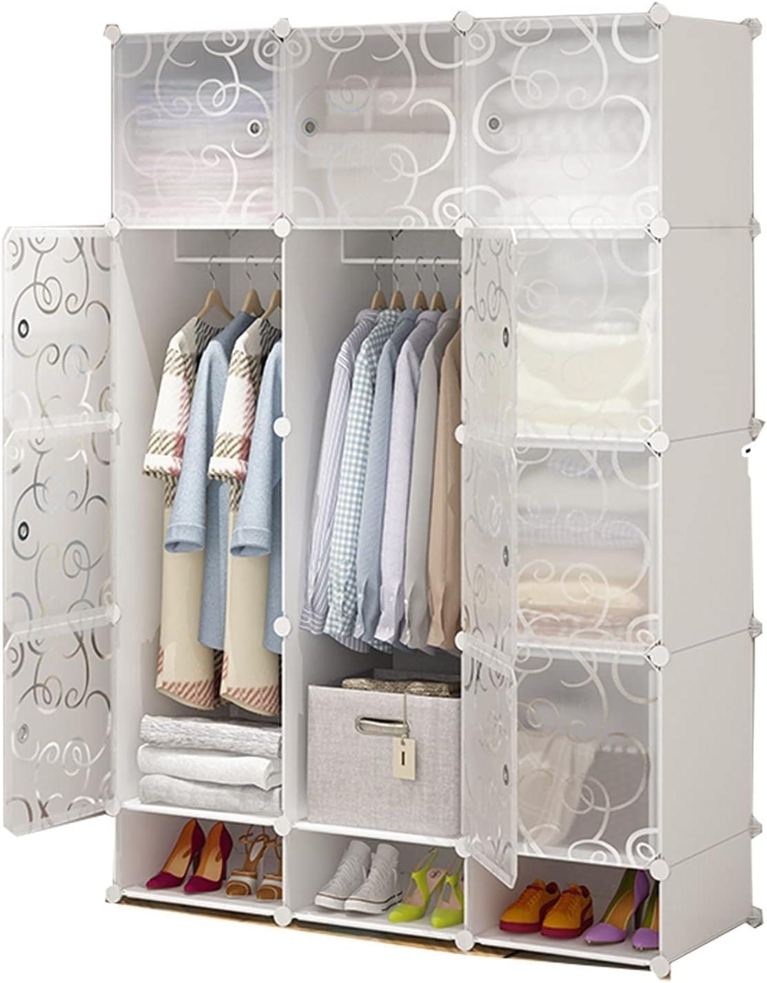 AWSAD Wardrobe Ranking TOP16 Organiser Assembly Large Storage Spasm price Plastic