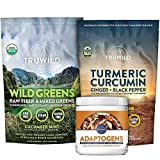 TRUWILD Jungle Bundle - Micronutrients and Antioxidants, Hydration and Recovery, Mental Wellbeing and Stress Relief
