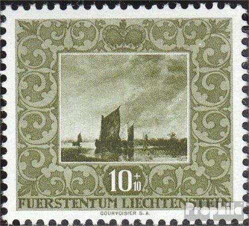 Prophila Collection Liechtenstein 301 1951 Werke holländischer Meister (Briefmarken für Sammler) Malerei