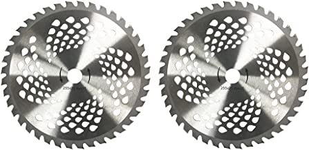 "KNKPOWER 2pk 10"" 40 Teeth Carbide Blades for Brush Cutter, Trimmer, Weed Eater.."