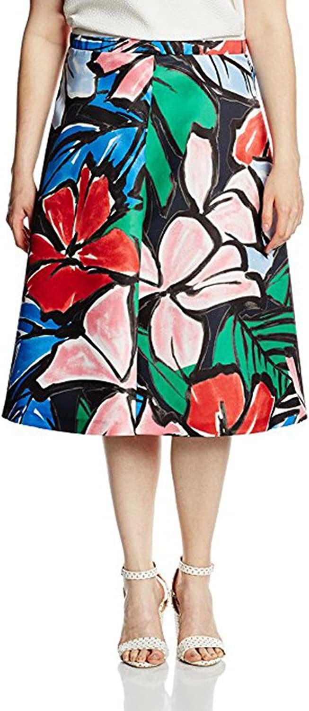 Marina Rinaldi Women's Caorle Floral KneeLength Skirt Multicolor