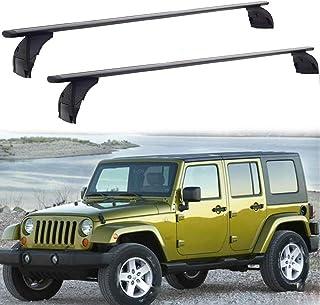 Sponsored Ad - TIXO Cross bar Fit for Jeep Wrangler 07-18 JK & 18-20 JL Unlimited 2&4 Door Roof Rack Rail Carrier