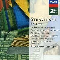 Stravinsky: Ballets - Le Sacre du Printemps (The Rite of Spring); Petrushka; Jeu de Cartes; Apollon Musagete; L'Oiseau de Feu Suite (The Firebird Suite) (2003-11-25)
