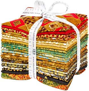 Gustav Klimt 22 Fat Quarter Bundle Plus Panel by Robert Kaufman Fabrics FQ-1538-23