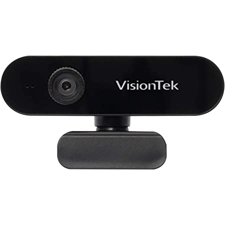 VisionTek VTWC30 Premium Full HD 1080p Webcam - Built-in Microphone, Compatible with Windows, Mac, Chromebook & More (901379)