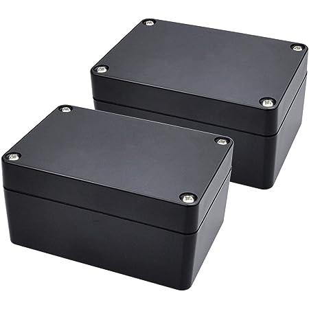 1pcs 85*50*20mm Black Plastic Electronic Project Box Enclosure Instrument Case