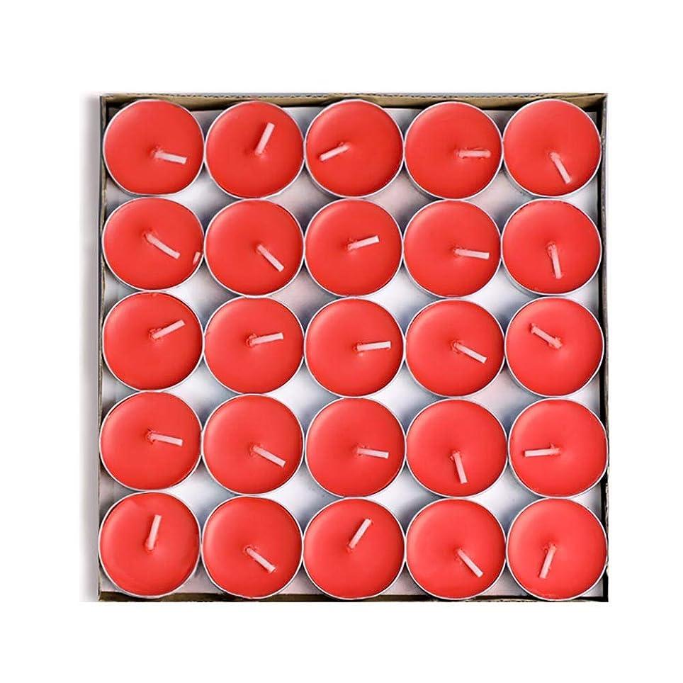 Hwagui キャンドル バターキャンドル 温かいお茶キャンドル 香りのキャンドル ギー ティーワックス 50個 1.5-2時間 ZH002